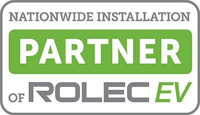 Rolec Nationwide Installation Partner EV badge
